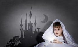 Εφιάλτες του παιδιού Στοκ φωτογραφία με δικαίωμα ελεύθερης χρήσης