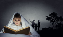 Εφιάλτης παιδιών Στοκ Εικόνες