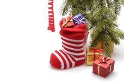 εφοδιασμός χριστουγεννιάτικων δώρων Στοκ Εικόνα