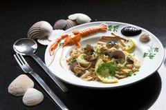 εύγευστα ζυμαρικά πιάτων Στοκ φωτογραφίες με δικαίωμα ελεύθερης χρήσης