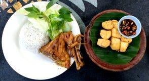 Εύγευστα ινδονησιακά τρόφιμα Στοκ φωτογραφία με δικαίωμα ελεύθερης χρήσης
