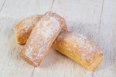 Εύγευστα και γλυκά muffins Στοκ Εικόνες