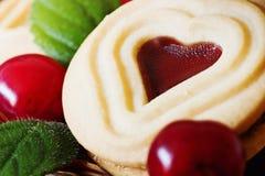 Εύγευστα μπισκότα διακοπών Στοκ εικόνα με δικαίωμα ελεύθερης χρήσης