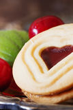 Εύγευστα μπισκότα διακοπών Στοκ Φωτογραφίες