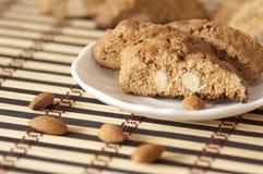 Εύγευστα μπισκότα cantuccini στοκ φωτογραφία με δικαίωμα ελεύθερης χρήσης