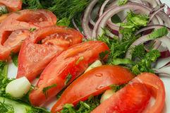 Εύγευστα οργανικά λαχανικά στοκ φωτογραφία