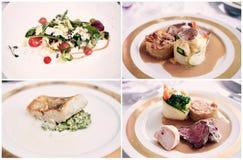 εύγευστα πιάτα Στοκ Εικόνα