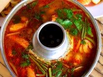 εύγευστα τρόφιμα Ταϊλανδό& Στοκ Εικόνα