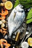 Εύγευστα φρέσκα ψάρια στοκ εικόνες με δικαίωμα ελεύθερης χρήσης