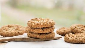 Εύγευστα ψημένα μπισκότα Anzac Στοκ φωτογραφία με δικαίωμα ελεύθερης χρήσης