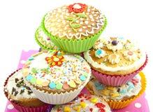 Εύγευστα cupcakes Στοκ εικόνα με δικαίωμα ελεύθερης χρήσης
