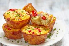 Εύγευστα muffins αυγών στοκ φωτογραφία με δικαίωμα ελεύθερης χρήσης
