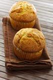 Εύγευστα muffins σπόρου παπαρουνών Στοκ εικόνα με δικαίωμα ελεύθερης χρήσης