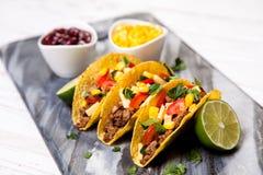 εύγευστα tacos Στοκ Φωτογραφίες