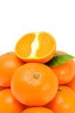 εύγευστα tangerines Στοκ φωτογραφία με δικαίωμα ελεύθερης χρήσης
