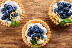 Εύγευστα tartlets βακκινίων Στοκ Εικόνα