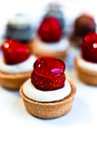 εύγευστα tarts φραουλών Στοκ Εικόνα