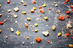 Εύγευστες σπασμένες καραμέλες Στοκ φωτογραφία με δικαίωμα ελεύθερης χρήσης