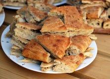 εύγευστη πίτα λάχανων Στοκ Φωτογραφία