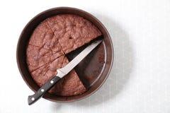 εύγευστη πίτα σοκολάτας Στοκ Εικόνες