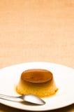 Εύγευστη πουτίγκα αυγών Στοκ φωτογραφία με δικαίωμα ελεύθερης χρήσης