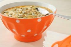Εύγευστη σούπα κολοκύθας στοκ φωτογραφίες με δικαίωμα ελεύθερης χρήσης