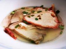 Εύγευστη συνταγή σούπας χοιρινού κρέατος στοκ φωτογραφία με δικαίωμα ελεύθερης χρήσης