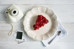 εύγευστη φράουλα φετών τ&u στοκ φωτογραφία με δικαίωμα ελεύθερης χρήσης