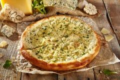 Εύγευστη φρέσκια πίτσα Στοκ Φωτογραφία