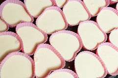 Εύγευστος που γεμίζουν cupcakes Στοκ εικόνες με δικαίωμα ελεύθερης χρήσης
