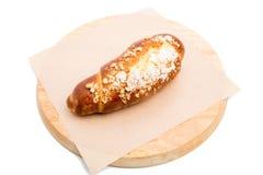 Εύγευστος croissant με την τραγανή ζάχαρη Στοκ φωτογραφία με δικαίωμα ελεύθερης χρήσης