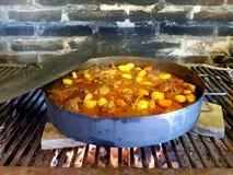 Εύγευστο αγροτικό stew Στοκ εικόνα με δικαίωμα ελεύθερης χρήσης