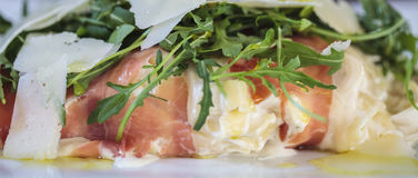 Εύγευστο γεύμα ζυμαρικών - κιβώτιο επιστολών Στοκ φωτογραφία με δικαίωμα ελεύθερης χρήσης