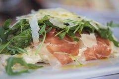 Εύγευστο γεύμα ζυμαρικών Στοκ εικόνα με δικαίωμα ελεύθερης χρήσης