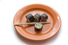 Εύγευστο γεύμα σουσιών Στοκ Εικόνα