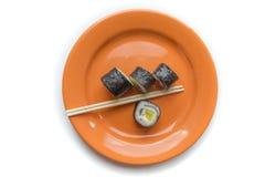 Εύγευστο γεύμα σουσιών Στοκ φωτογραφία με δικαίωμα ελεύθερης χρήσης