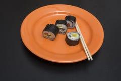 Εύγευστο γεύμα σουσιών Στοκ Εικόνες
