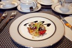 εύγευστο γεύμα όρεξης Στοκ Εικόνες