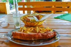 εύγευστο γεύμα Στοκ εικόνα με δικαίωμα ελεύθερης χρήσης