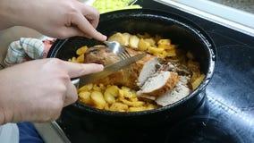 εύγευστο γεύμα Στοκ Εικόνα