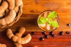 Εύγευστο γλυκό tamarind ποτών Στοκ φωτογραφία με δικαίωμα ελεύθερης χρήσης