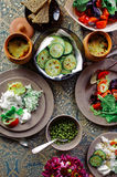 Εύγευστο εγχώριο γεύμα Στοκ φωτογραφία με δικαίωμα ελεύθερης χρήσης