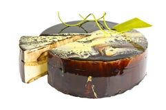 Εύγευστο εορταστικό κέικ μπισκότων με τη σοκολάτα Στοκ φωτογραφίες με δικαίωμα ελεύθερης χρήσης