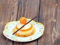 Εύγευστο κέικ λεμονιών Στοκ εικόνα με δικαίωμα ελεύθερης χρήσης
