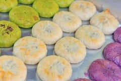 Εύγευστο κέικ λουλουδιών, ένα ειδικό προϊόν της επαρχίας Yunnan, Κίνα στοκ φωτογραφίες