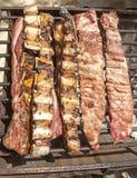 Εύγευστο κρέας σχαρών στοκ εικόνα