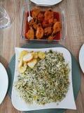 Εύγευστο μεσημεριανό γεύμα στοκ εικόνες