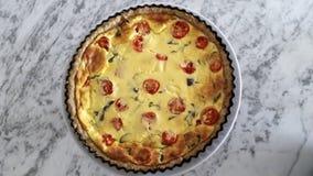 Εύγευστο πίτα στο πιάτο, υγιής και ορεκτικός στοκ εικόνες με δικαίωμα ελεύθερης χρήσης
