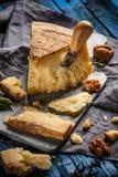 Εύγευστο τυρί παρμεζάνας στοκ εικόνα με δικαίωμα ελεύθερης χρήσης