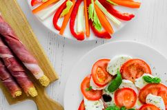 Εύγευστο χορτοφάγο antipasti Στοκ φωτογραφίες με δικαίωμα ελεύθερης χρήσης
